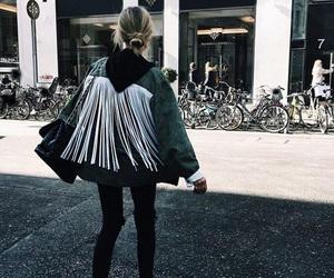 fashion, style, and fringe image