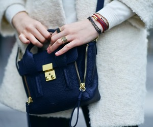 bag, fashion, and coat image
