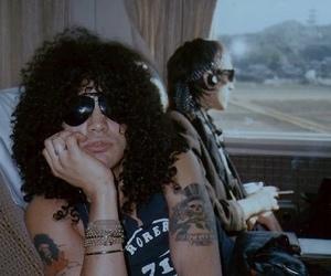 slash, Guns N Roses, and izzy stradlin image