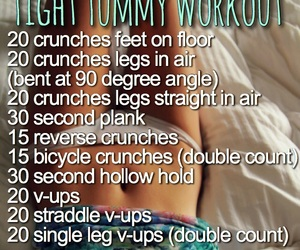 workout, ab, and abs image