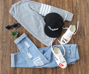 clothes, outfits, and fashion image