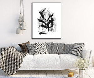 abstract, abstract art, and affordable art image