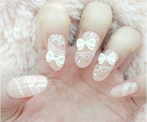 bow, creative, and girly image