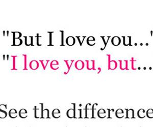 love, difference, and but image