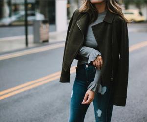 fashion, glamour, and jacket image