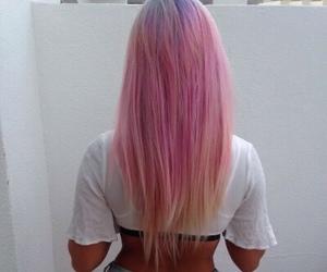 girl, grunge, and hairs image