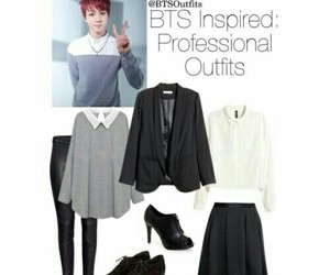 jin, outfit, and bts image