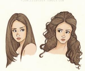tvd, the vampire diaries, and elena gilbert image