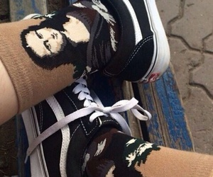grunge, vans, and socks image