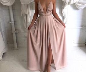 beautiful, weeding, and dress image
