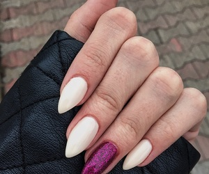beautiful, long, and nails image