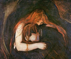 edvard munch, art, and painting image