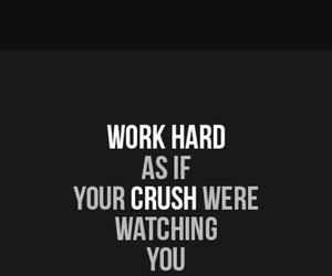 fitness, motivation, and crush image