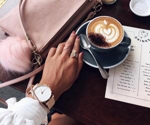 coffee, drinks, and fashion image