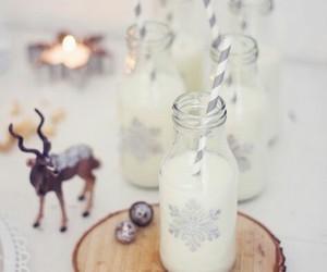 christmas and milk image