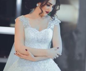 bride, classy, and wedding image