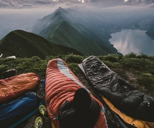 mountain, nature, and adventure image