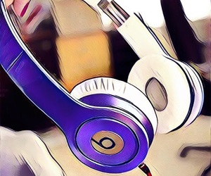 beats, cute, and cool image