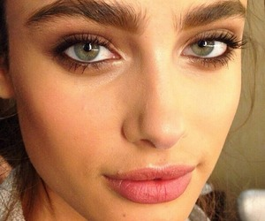 girl, model, and eyebrows image