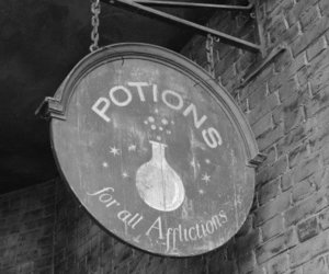 potion, magic, and harry potter image