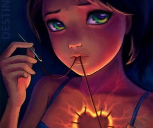 heart, sad, and broken image