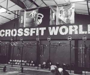 fitness, crossfit, and crossfiter image