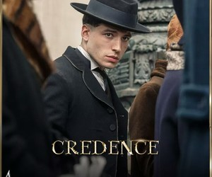 ezra miller, fantastic beasts, and credence image