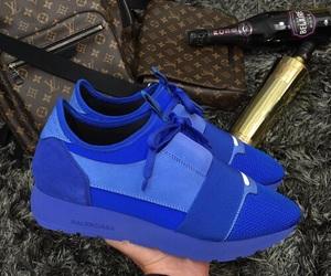 Balenciaga and blue image