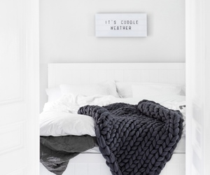 home, bed, and house image