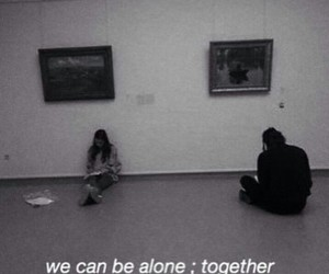 alone, grunge, and together image