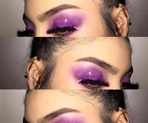 accessories, eyebrows, and eyeliner image