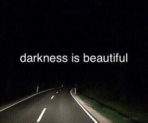Darkness, beautiful, and black image