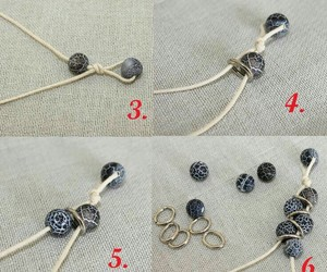 bracelets, diy, and fashion image