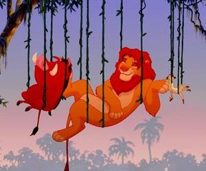 lion king, disney, and simba image