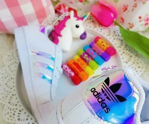 adidas, unicorn, and baby lips image