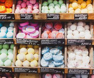 lush, tumblr, and bath bombs image