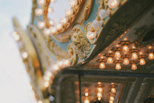 carousel, lights, and photography image