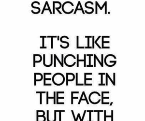 sarcasm and words image