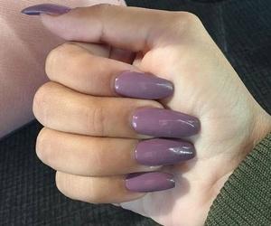 girl, nails, and nails polish image
