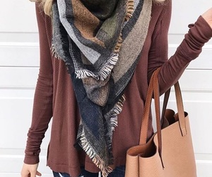 fashion, outfit, and fall style image
