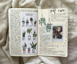 art, journal, and aesthetic image