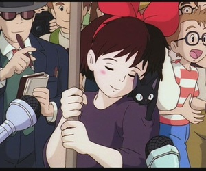 kiki, anime, and studio ghibli image