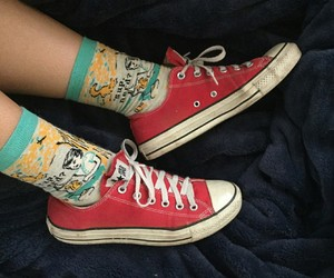 converse, grunge, and indie image