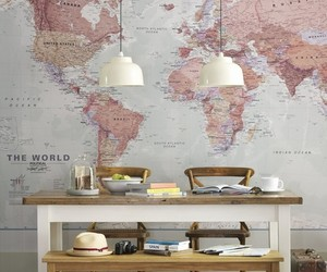 map, home, and world image