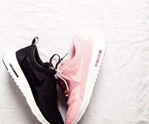 black, tumblr, and light pink image
