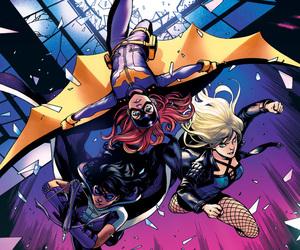 batgirl, Black Canary, and dc comics image