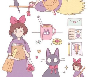 kiki, anime, and ghibli image