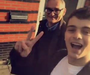 boy, cute, and dad image