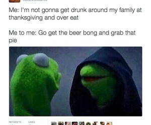 funny, kermit the frog, and meme image