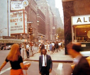 vintage, city, and new york image